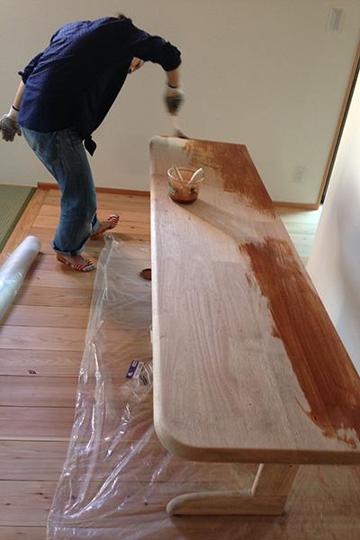 家具塗装1