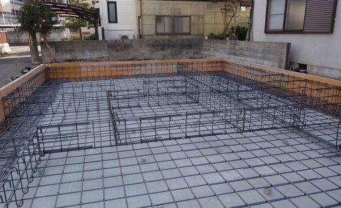 加古川の家Ⅱ基礎工事