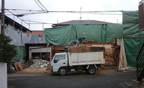 加古川の家Ⅱ解体写真