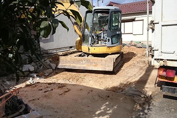 加古川の家Ⅱ解体修了