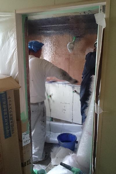 浴室FRP防水2