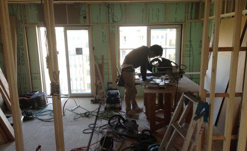 浴室下地工事