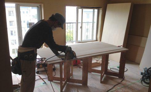 家具造作風景