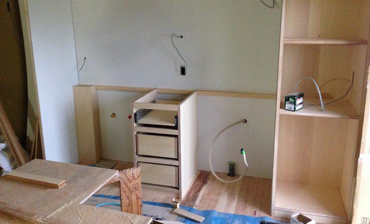 キッチン造作