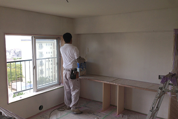 壁アレスシックイ塗り