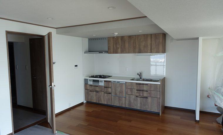 キッチン収納工事前