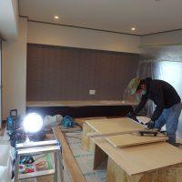 キッチン収納工事2