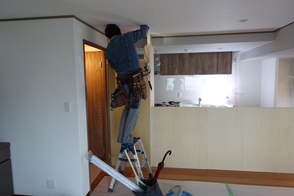 キッチン収納工事2-1