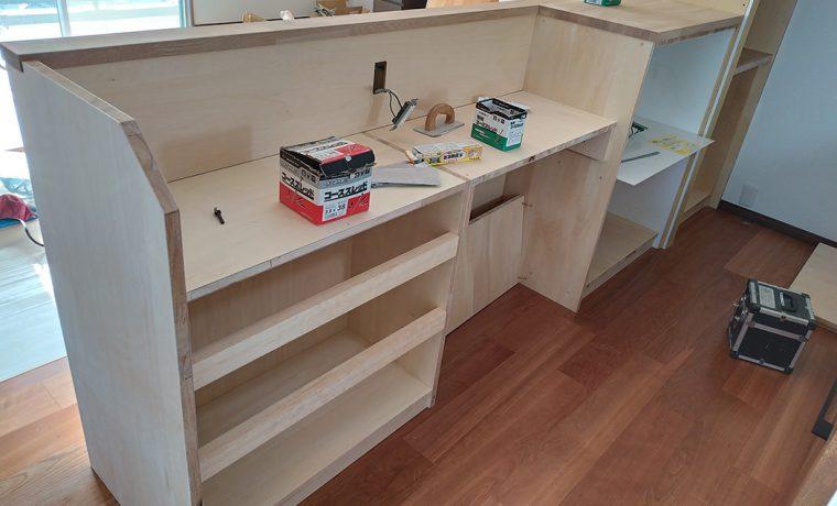 キッチン収納工事3